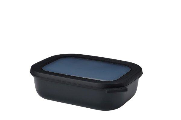 multischüssel cirqula rechteckig 1000 ml - nordic black