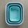 multischüssel cirqula rechteckig 1000 ml - nordic blue
