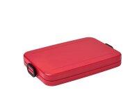 lunchbox take a break flat - nordic red