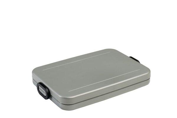 lunchbox take a break flat - silver