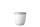 Snackpot Ellipse 500 ml - weiß