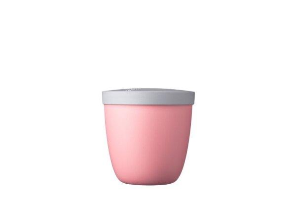 Snackpot Ellipse 500 ml - nordic pink