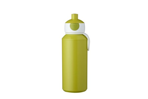 Trinkflasche Pop-up Campus 400 ml - lime