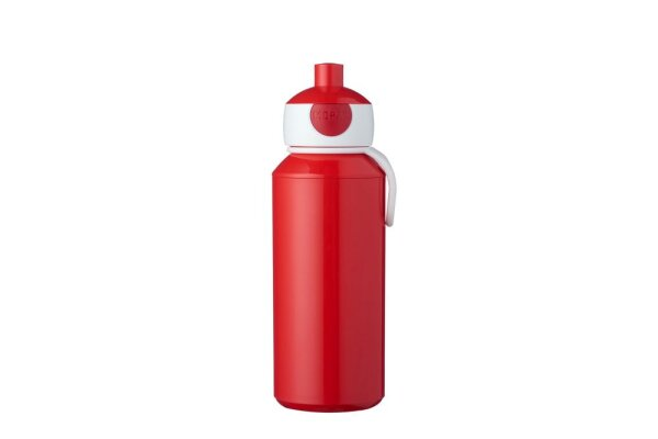 Trinkflasche Pop-up Campus 400 ml - rot