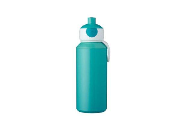 Trinkflasche Pop-up Campus 400 ml - türkis