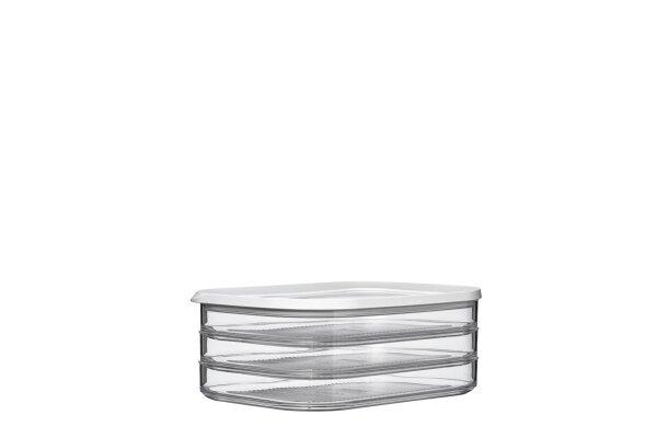 Aufschnittdose Modula, 1650 ml 550/3 - weiß