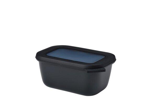 multischüssel cirqula rechteckig 750 ml - nordic black