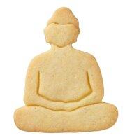 Ausstechform Buddha, Edelstahl, mit Innenprägung,...