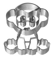 Ausstechform Affe, Edelstahl, mit Innenprägung, 7 cm