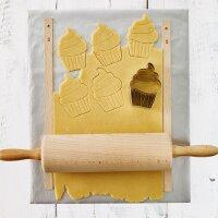 Back- und Ausrollmatte, Easy Baking, 33 x 40 cm, silber,...