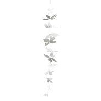 "Blütenkette XL ""Silver blossom"""