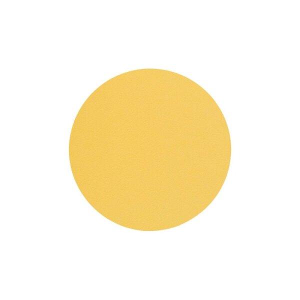 Glasuntersetzer rund 10cm yellow/Nupo