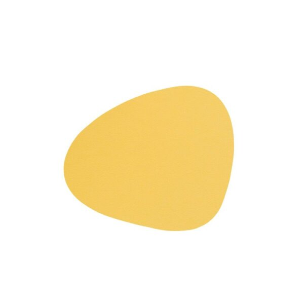 Glasuntersetzer Curve Nupo Yellow
