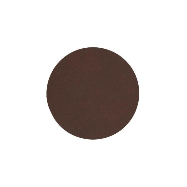 Glasuntersetzer rund Nupo Dark Brown