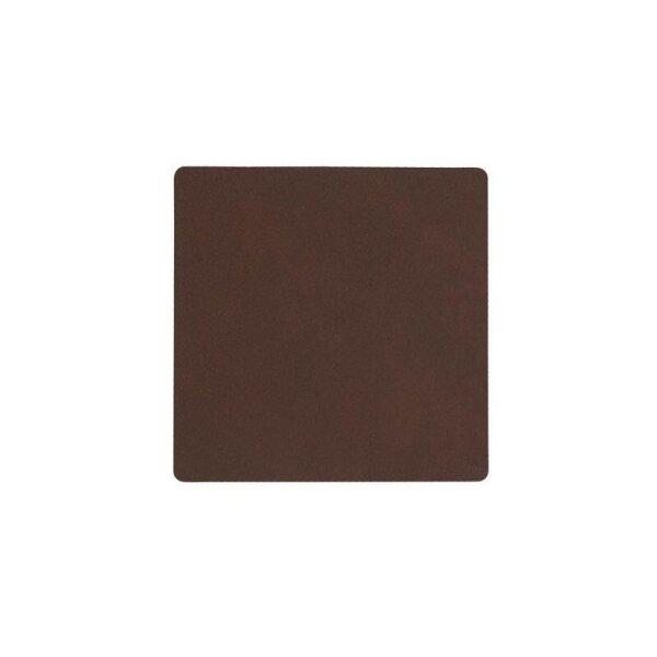 Glasuntersetzer Square Nupo Dark Brown