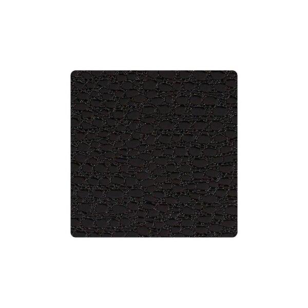 Glasuntersetzer Square Lace Black