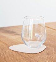 Glasuntersetzer Curve Sand/Nupo