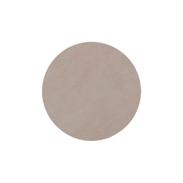 Glasuntersetzer rund 10cm light grey/Nupo