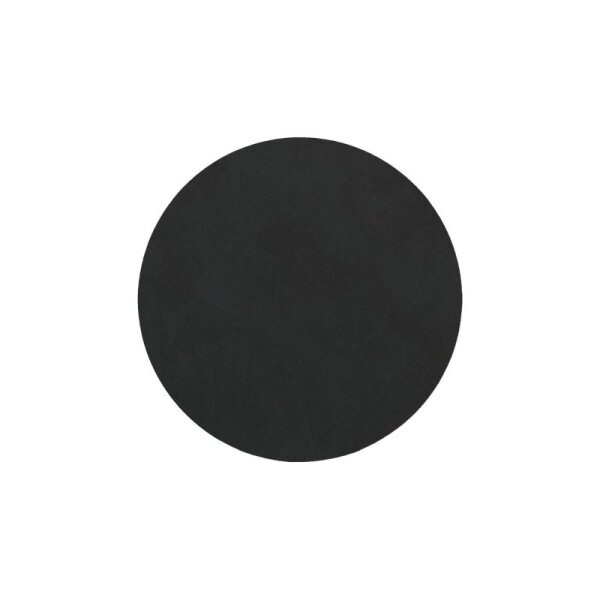 Glasuntersetzer rund 10cm black/Nupo