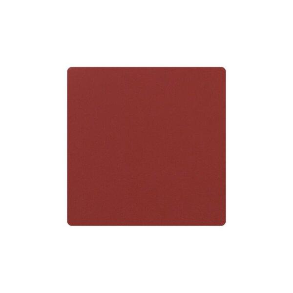 Glasuntersetzer Square Nupo Red