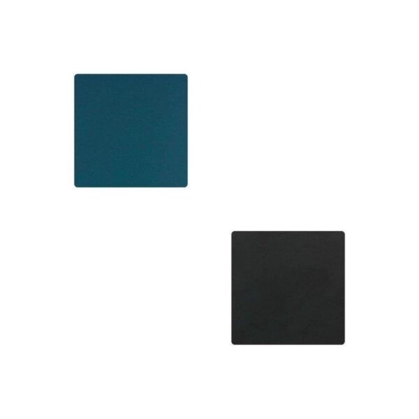 Glasuntersetzer Square wendbar Nupo Dark Blue/Black
