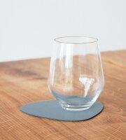 Glasuntersetzer Curve light blue/Nupo