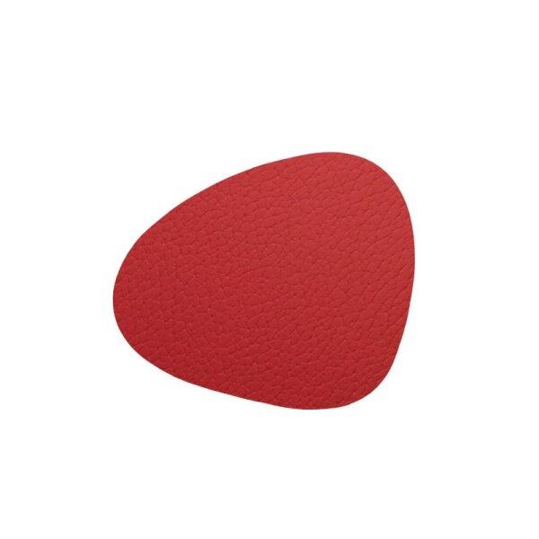 Glasuntersetzer Curve Bull Red