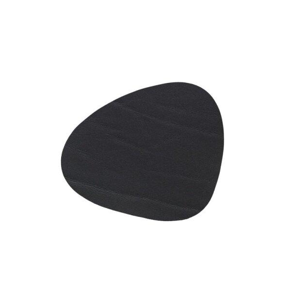 Glasuntersetzer Curve black/buffalo