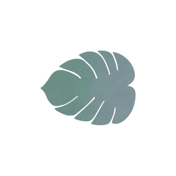 Glasuntersetzer Monstera Leave pastel green/Nupo