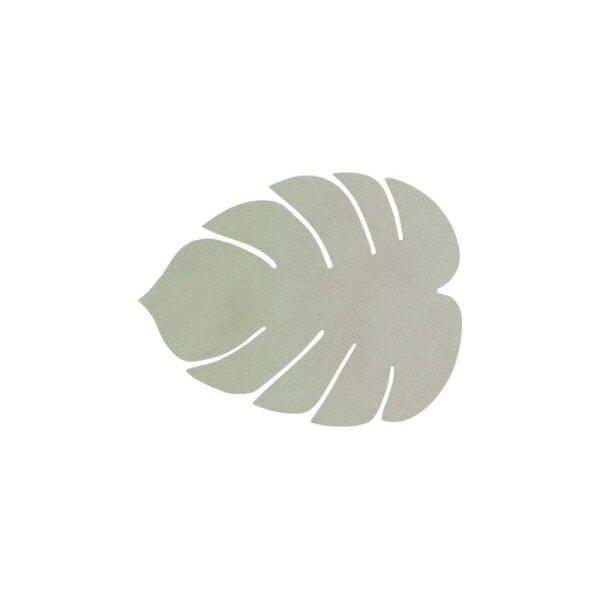 Glasuntersetzer Monstera Leaf Nupo Olive Green