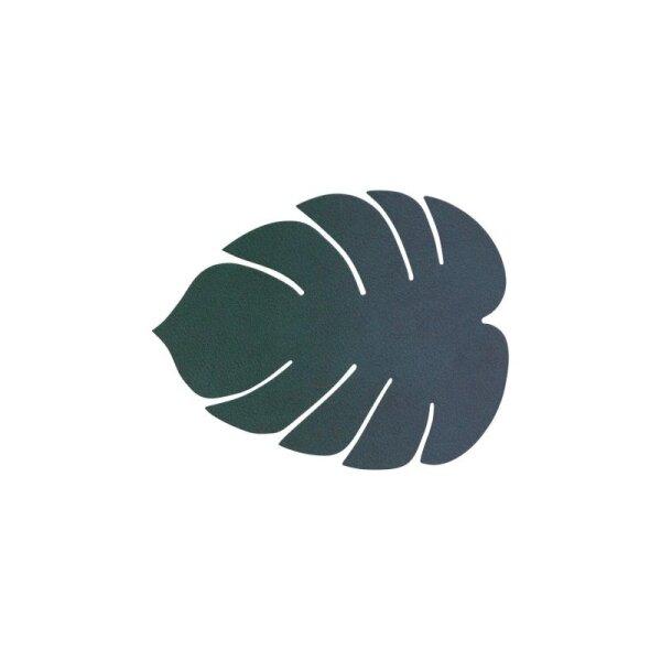 Glasuntersetzer Monstera Leave dark green/Nupo