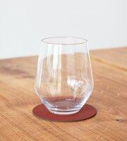 Glasuntersetzer rund 10cm sienna/Nupo