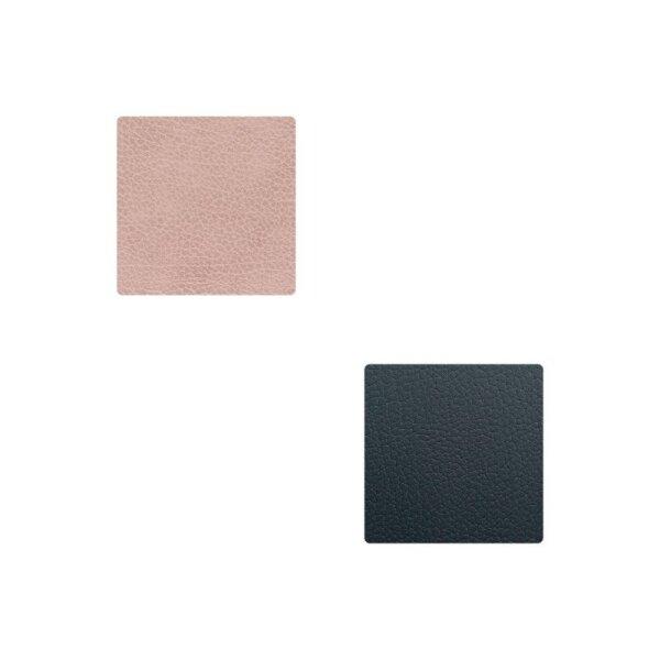 Glasuntersetzer Square wendbar Bull Warm Grey/Black