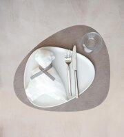 Tischset Curve L Bull Warm Grey