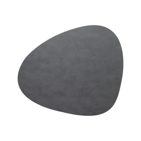 Tischset Curve L Cloud Anthracite