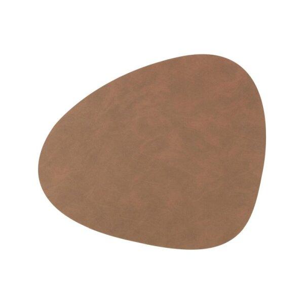 Tischset Curve L Nupo Brown