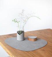 Tischset Curve L Nupo Light Grey