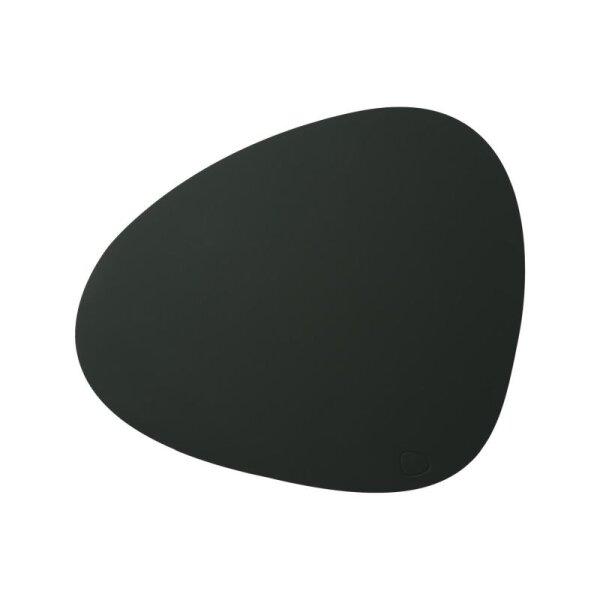 Tischset Curve L Softbuck Dark Green