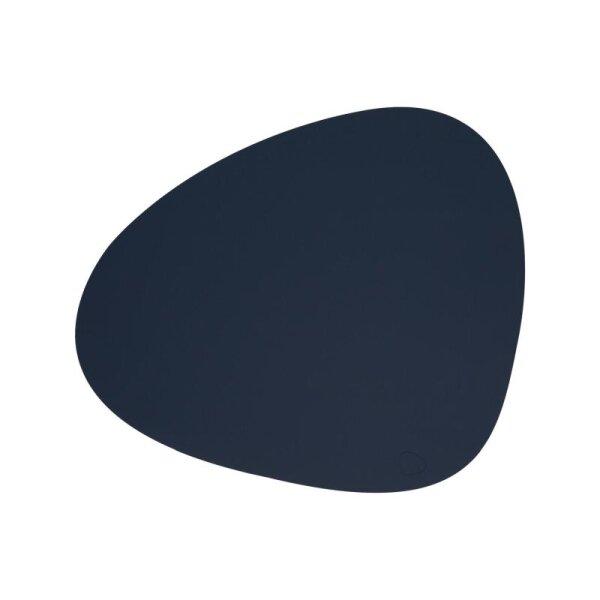 Tischset Curve L Softbuck Navy Blue