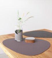Tischset Curve L wendbar Nupo Purple/Black