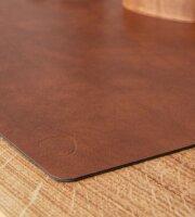 Tischset Square L wendbar Bull Cognac/Black