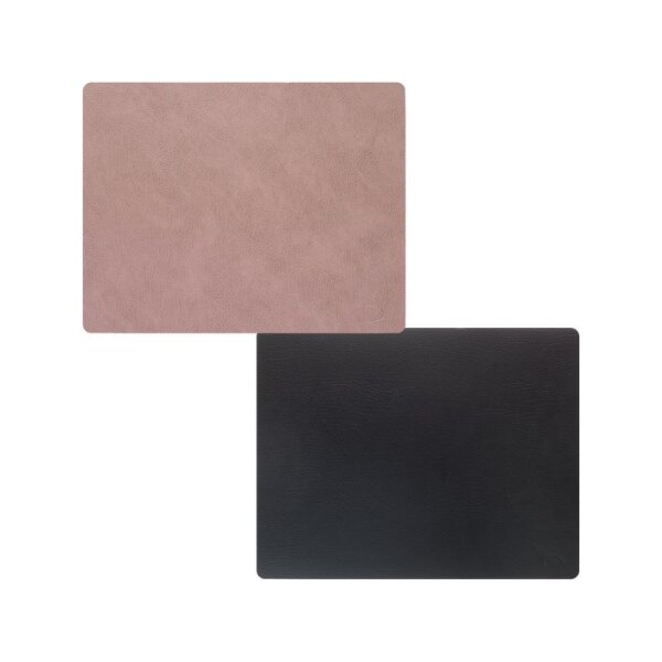 Tischset Square L wendbar Bull Warm Grey/Black