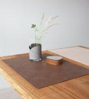 Tischset Square L wendbar Cloud Brown/Nupo Sand