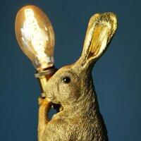 Tischleuchte Meister Lampe, gold
