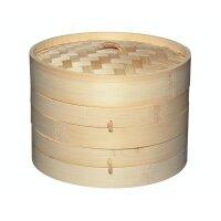 KitchenCraft World of Flavours Bamboo Steamer 20 cm