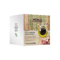 KitchenCraft World of Flavours Essig- und Ölflasche...