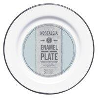 Living Nostalgia Emaille-Teller 20 cm