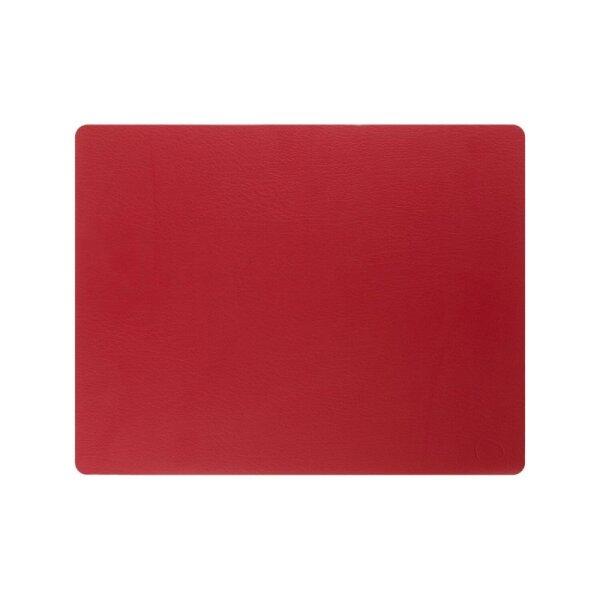 Tischset Square L Bull Red