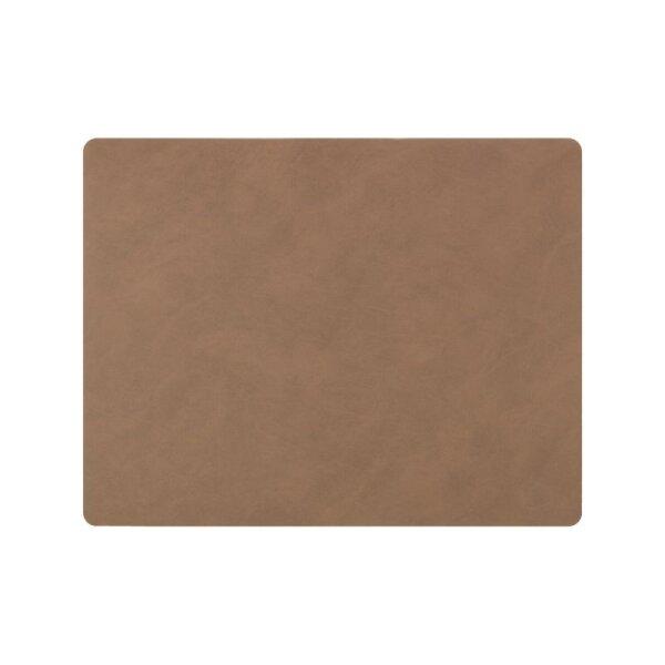 Tischset Square L Nupo Brown