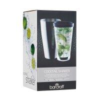 BarCraft Boston Cocktail Shaker, 400 ml